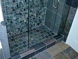 Flower Mound Bathroom Remodeling Shower Tiled
