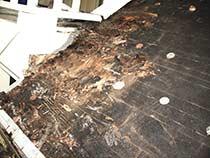 Roofing Deck Damage Flower Mound TX